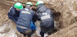Sapo përfundoi sanimi i gypit me diameter fi 250 mm në fshatin Hajvali,