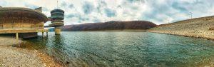 Niveli i ujit në liqenet akumuluese Batllava dhe Badoci,