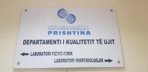 Cilësia e ujit të pijshëm /KRU,,Prishtina,, sh.a.