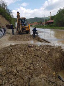 Intervenimet në rrjetin e ujësjellësit dhe kanalizimit,