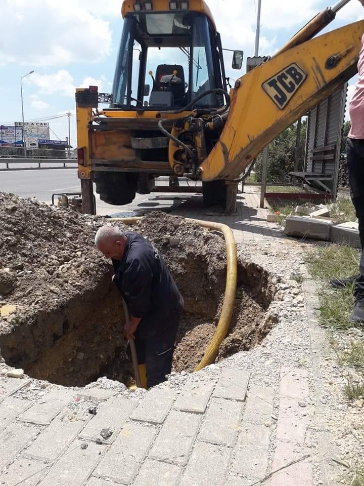 Inspektime dhe riparime në rrjetin e ujësjellësit,
