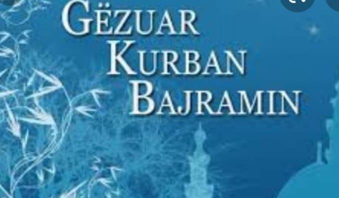 Me fat festa e shenjtë e Kurban Bajramit të gjithë besimtarëve të fesë Islame.