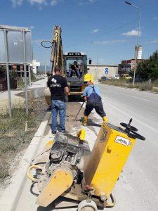 Vazhdojmë me riparime të infrastrukturës së rrjetit të ujit,