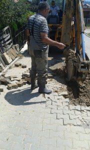 Riparime të pandalshme në sistemin e rjetit të ujësjellësit,ekipet teknike në terren