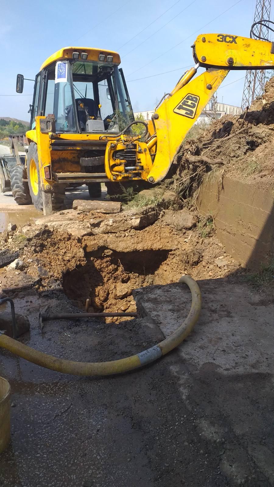Ndërhyrjet në infrastrukturën e rrjetit të ujit,