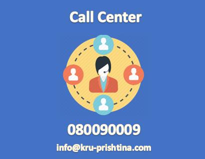 """Hapet Qendra e Thirrjeve në KRU""""Prishtina""""sh.a"""