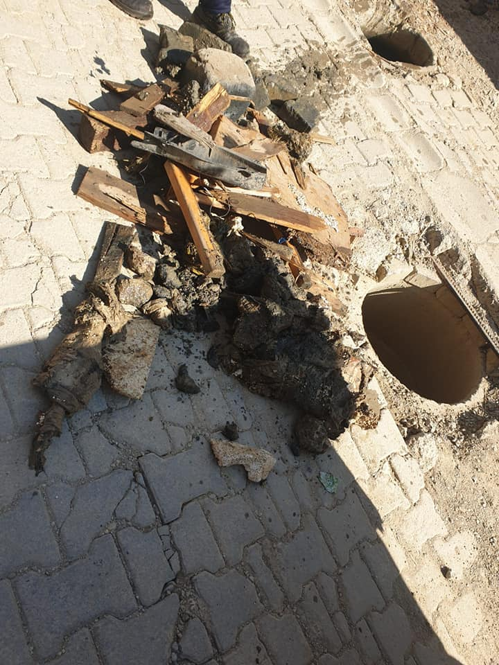 """Rruga """"Ukshin Kovaqica"""" në Prishtinë dhe kanalizimi,"""