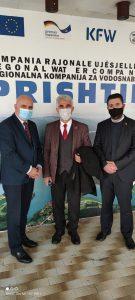 z. Recep Gunduz, koordinatori nga Qendra Kulturore e Kosovës në Bursa vizitoi sërish Ujësjellësin e Prishtinës, për të konfirmuar bashkëpunimin.