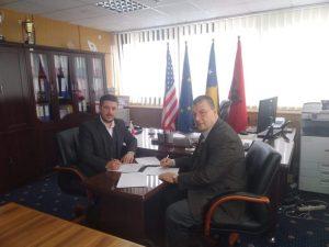 Ujësjellësi i Prishtinës nënshkruan Memorandum Bashkëpunimi me Kolegjin BIZNESI, në Prishtinë.