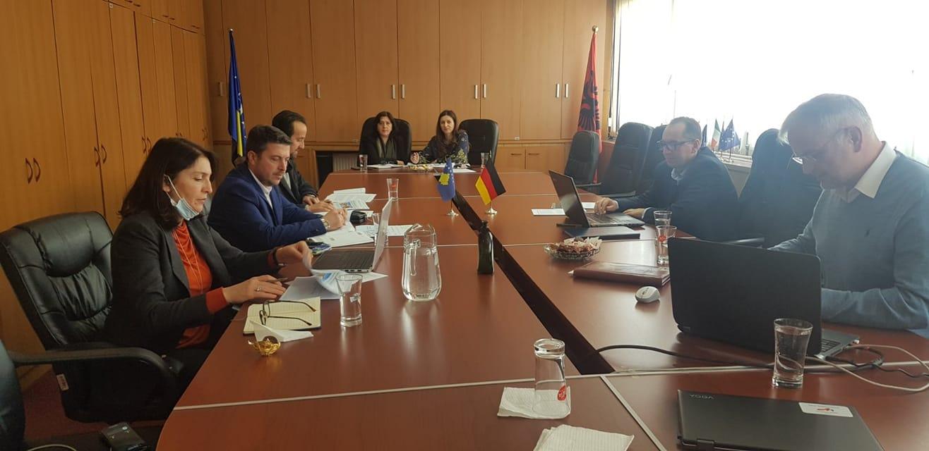 """KRU"""" Prishtina """" falënderon donatorët KFW( Bankën Gjermane për Zhvillim)  dhe Komisionin Evropian"""