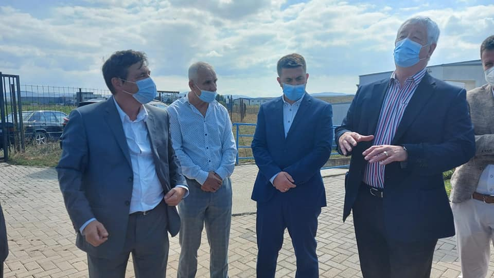 Kryshefi ekzekutiv  Sokol Xhafa u takua me delegacionin nga Qeveria Zvicerane, konkretisht SDC-në  dhe kryetarin e komunës së  Lipjanit